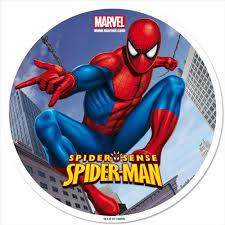 Edible Cake Topper Spiderman 3 Artgato
