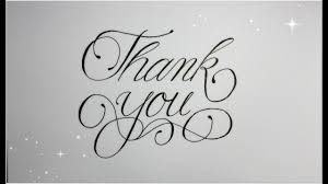 Thank You Cursive Font How To Write Thank You In Fancy Cursive Easy Version For Beginners