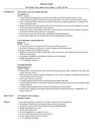 Driver Resume Examples Tanker Driver Resume Samples Velvet Jobs 23