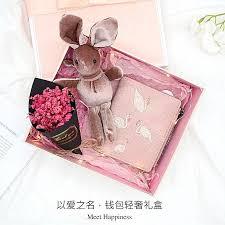 fashion flamingo wallet gift box night light tanabata valentine s day to send a girlfriend romantic birthday gift girl girlfriends diy korea creative