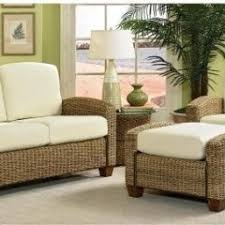 wicker sunroom furniture. cabana banana chair with ottoman and loveseat infuse your living room decor a natural tropical mood this wicker furniture set sunroom
