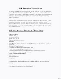 Hr Manager Resume Format Resume Template 10 Years Experience Hr Manager Resume Sample