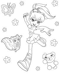 Small Picture Polly Pocket Coloring Pages 3 Coloring Kids