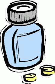 Image result for free clipart of swallowing a pill
