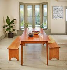 shaker dining room chairs shaker solid top dining table chilton