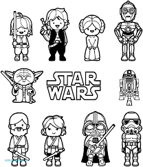 Stormtrooper Coloring Pages Star Wars Printable 312344 Simple With