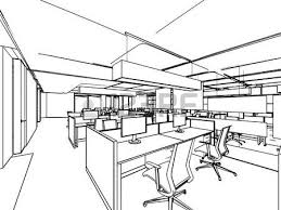 315,860 interior design stock illustrations, cliparts and royalty Home Interior Design Business Plan Sample interior design outline sketch drawing perspective of a interior space office Interior Design Business Model Examples
