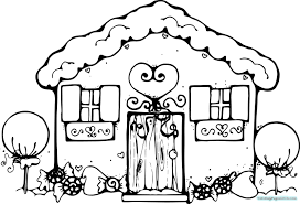 gingerbread house coloring sheet large gingerbread house coloring pages coloring pages for kids