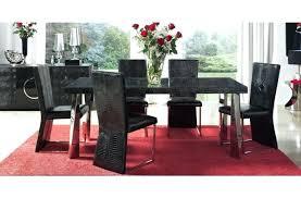 7 piece black dining room set. Dining Room Set Black 7 Piece Canada I