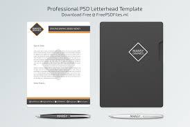 Psd Letterhead Template Professional Letterhead PSD Template Free PSD Files Free PSD 12
