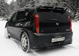 <b>Накладка</b> (<b>Губа) на</b> задний бампер — Toyota Opa, 2.0 liter, 2001 ...