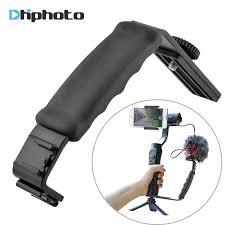 ulanzi triple hot shoe camera mount three cold bracket tripod stand for canon dslr video microphone led light
