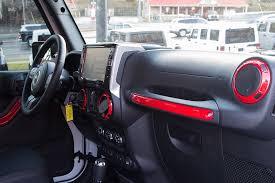 jeep rubicon white interior. custom painted interior accents jeep rubicon white