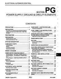 2014 infiniti qx60 power supply ground circuit elements 2014 infiniti qx60 power supply ground circuit elements section pg 98 pages