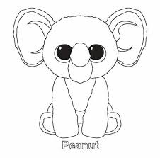 Beanie Boos Bunny Free Coloring Pages Free Coloring Pages