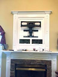 mounted tv over fireplace ideas how to hide wires for wall mounted over fireplace mount brick