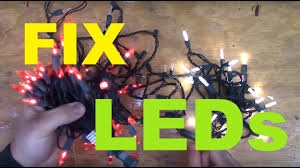How To Custom Cut Led Christmas Lights How To Fix Led Christmas Lights