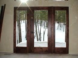 full glass front door knotty alder full glass door and sidelights full glass entry door with