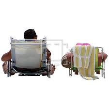 people sitting on chairs png. save. just two people sitting in beach chairs on png