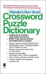 webster s new world crossword puzzle dictionary third edition jane shaw whitfield 9780671726928 amazon books
