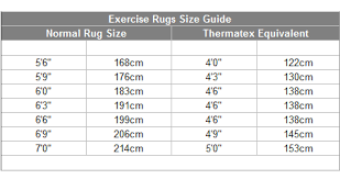 Nordic Exercise Rug
