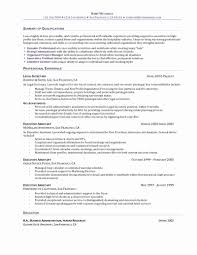 Sample Resume For Executive Assistant To President Sample Resume For Executive Administrative Assistant Fresh Assistant 5