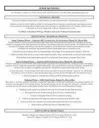 resume for writer