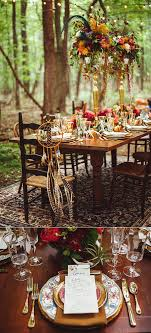 Indonesian Table Setting Love The Venue The Dress Funky Wedding Mariage Tipis Hippie