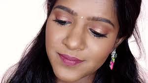 tamil makeup tutorial simple wedding guest makeup