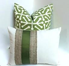 sage green throw olive green pillows sage green throw pillows burlap olive green decorative pillow cover sage green throw