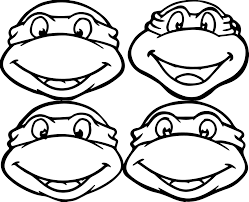 Printable Ninja Turtle Coloring Pages Dapmalaysiainfo