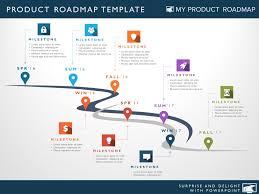 Development Roadmap Template Project Management Product Strategy Portfolio Development Cycle