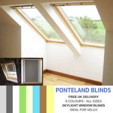 Details About Skylight Blinds For Velux Windows Blackout Fabric Free Uk Delivery