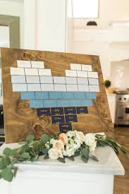Table Seating Chart Baby Shower
