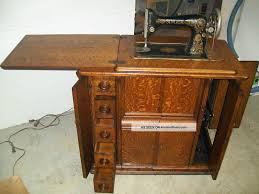 Vintage Sewing Machine Cabinet - Imanisr.com