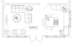 drawing furniture plans. Furniture Images For Floor Plans. Architectural Set Of Furniture. Interiors Elements House, Drawing Plans
