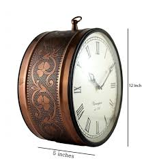 2 sided wall clock d dass double sided 12 inches railway station clock