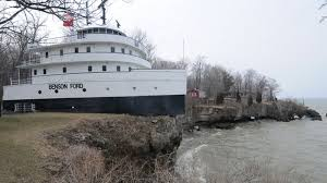 Benson Ford House This 90 Year Old Cargo Ship Is Actually A Cliffside Home Curbed