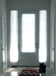 front doors glass door curtain ideas dream window shades with regard to entry shade aspiration treatments
