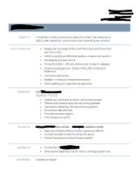 16 Year Old Resume Feedback Appreciated Jobs