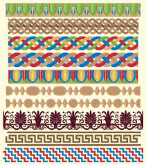Border Patterns Amazing Antique Decorative Pattern Border Vector 48 Free Download