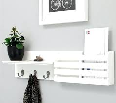 White Coat Rack Wall Mounted Wall Magazine Rack White Coat Rack Wall Mounted Hooks Hanger Wood 69