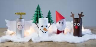 Zu Weihnachten Mit Der Ganzen Familie Eigene Schneekugeln