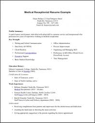 Medical Administrative Assistant Resume Beautiful New Entry Level