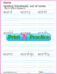 © contributed by leanne guenther. 2 Phonics Wor Words Worksheets