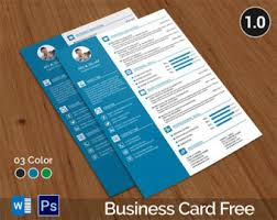 CV Template, CV Template with Business Card, CV, Resume Template, Resume,
