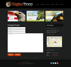 Free Online Template Free Website Template Youth Organization