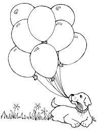 balloons coloring page party stars preschool hot air balloon 1024x1020ree pages sheets birthdayive nights at free