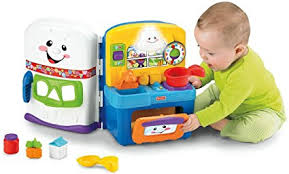 amazon com fisher price laugh learn learning kitchen toys games