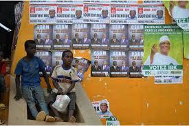 """Résultat de recherche d'images pour """"image de panneau electoral consolider la paix a bamako au mali"""""""